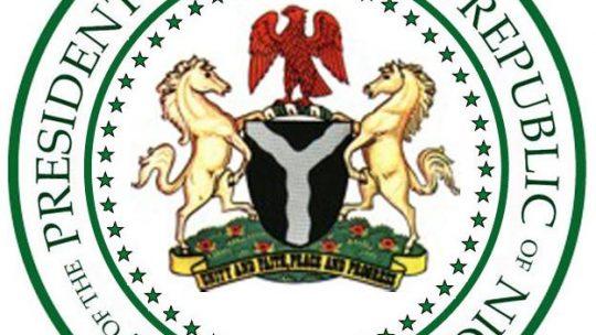 Presidential seal Nigeria